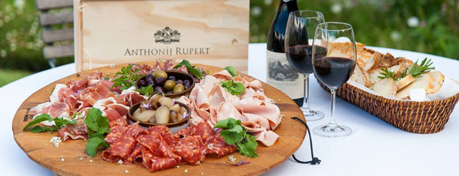SHIRAZ AND CHARCUTERIE AT ANTHONIJ RUPERT WiNE