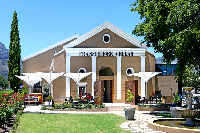 WINE ADVENTURES AT THE FRANSCHHOEK CELLAR