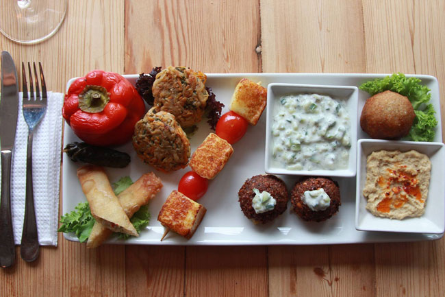 A CULINARY TRIP TO THE MIDDLE EAST WITH SHEGO