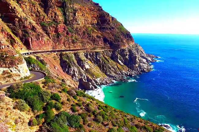 WATCH: CHAPMAN'S PEAK FROM THE SKY