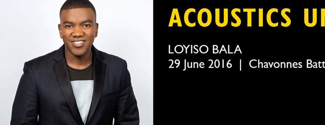 ACOUSTICS UNDERGROUND SERIES PRESENTS LOYISO BALA