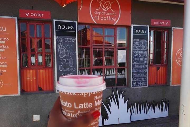 DEPARTMENT OF COFFEE: CAPE TOWN'S ONLY TOWNSHIP COFFEE SHOP