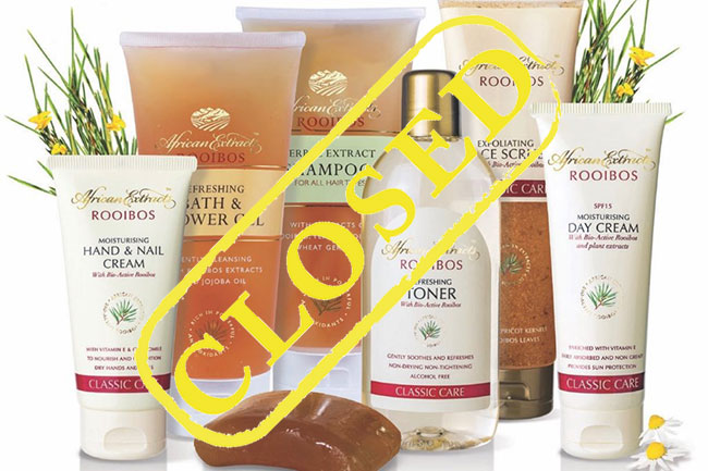 WIN WITH AFRICAN EXTRACTS ROOIBOS
