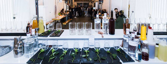 secret pop-up gin bar saltriver