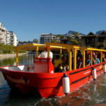 red bus harbour tour cruise