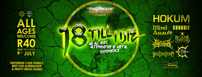 THE UNSCENE PRESENTS 18 TIL I DIE