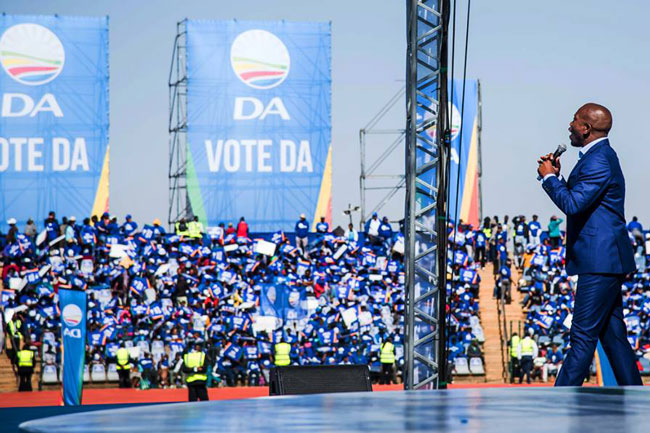 DA DOMINATES WESTERN CAPE IN 2016 LOCAL GOVERNMENT ELECTIONS