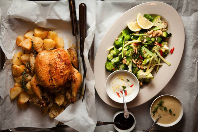 A DELIGHTFUL DINNER AT THE LARDER CAFÉ SUPPER CLUB