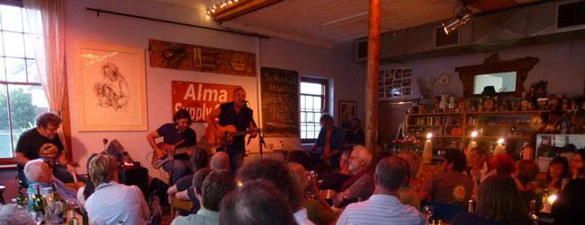 BLACKSMITH AT ALMA CAFÉ