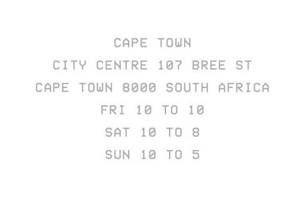 kanye cape town