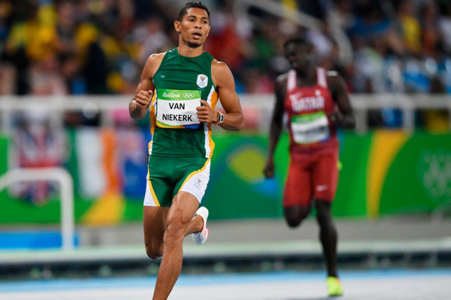 CT'S WAYDE VAN NIEKERK SETS WORLD RECORD IN RIO