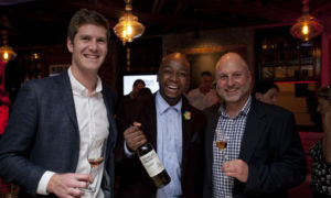 Douglas-Green-Sherry-Launch---Kris-Snyman-with-Sandile-Mkhwanazi-and-Greg-Castle-FI