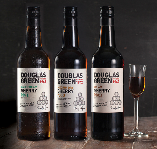 Douglas-Green-Sherry-range