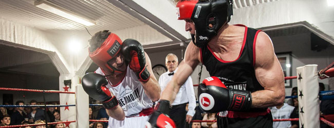 sparring class at the armoury boxing club