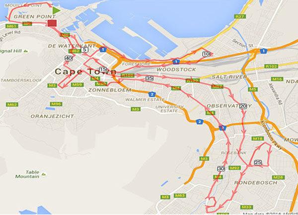 road closures cape town marathon