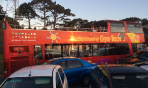sunset bus tour