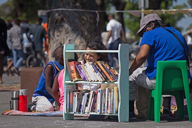 Rory Williams The Book Station Langa