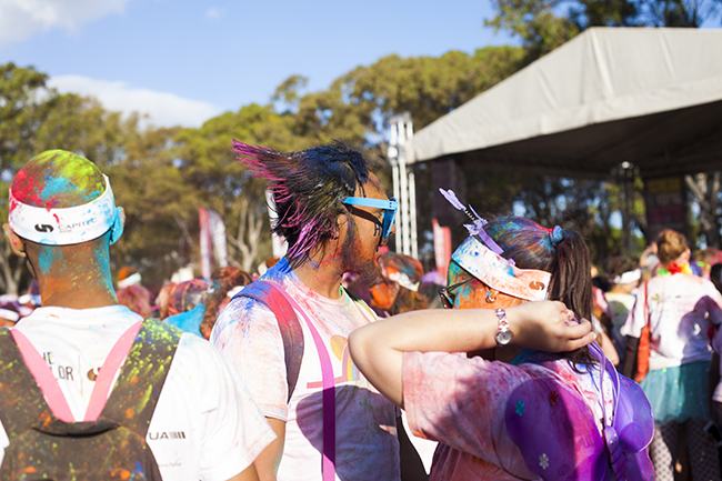 Color Run Cape Town 2016