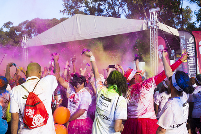 Color Run Cape Town 2016