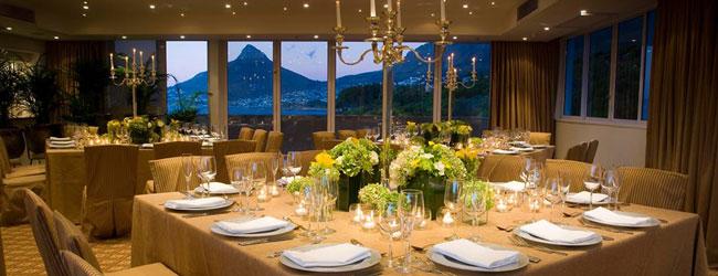 gourmet food and wine dinner
