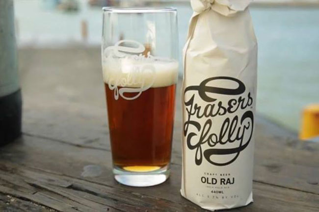 BLACK OYSTERCATCHER WINE BUYS FRASER'S FOLLY CRAFT BEER