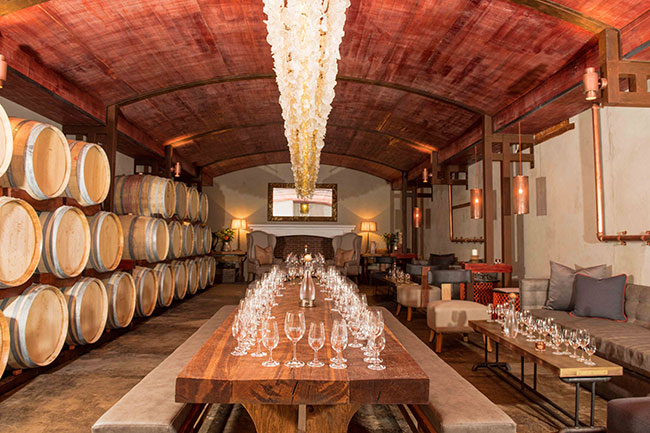 A TASTING ROOM WITH A DIFFERENCE AT ZANDVLIET