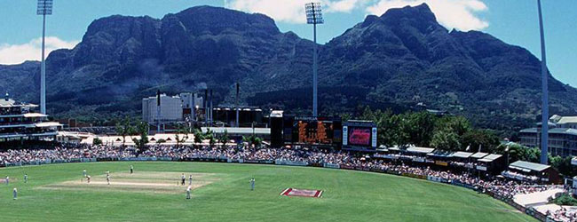 PROTEAS VS SPRINGBOKS AT NEWLANDS