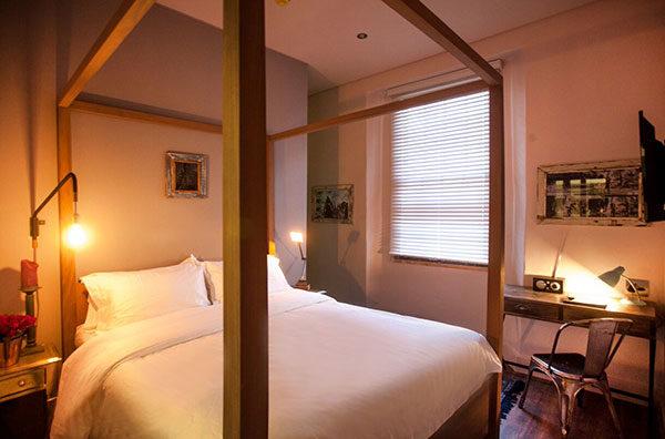 grey boutique hotel
