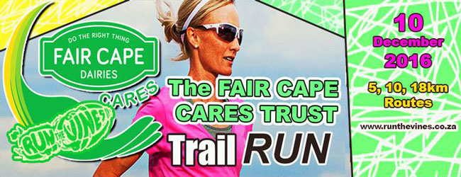 RUN THE VINES WITH FAIR CAPE CARES TRUST