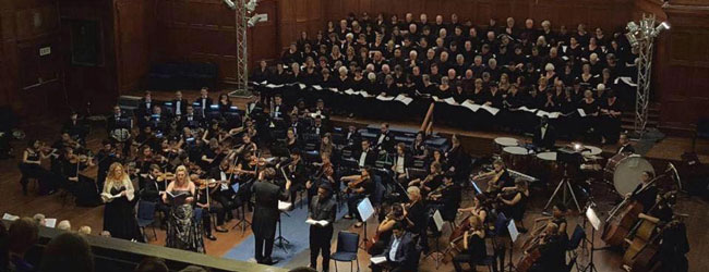 THE SYMPHONY CHOIR OF CAPE TOWN PERFORMS HANDEL'S 'MESSIAH'