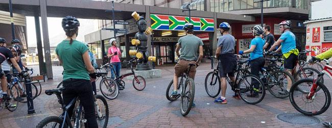 Public Art Bike Tour