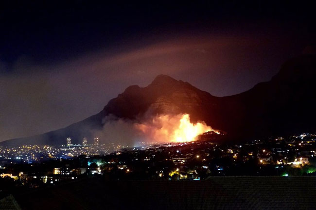 Deer Park Fire, The latest devastating #CapeFire