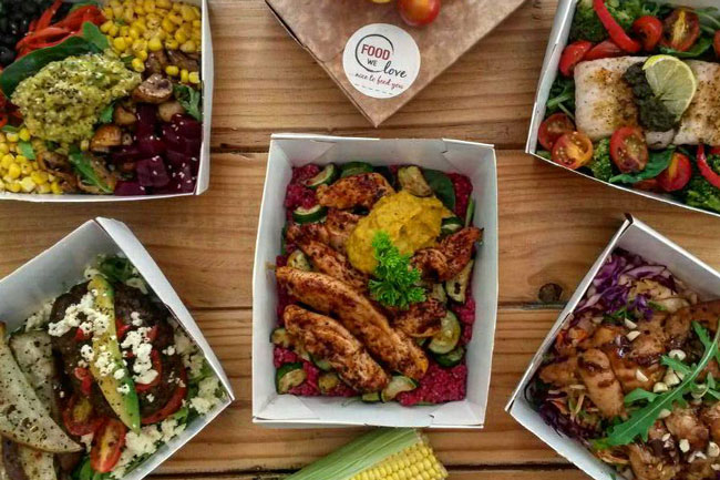 Enjoy a healthy lunch with FOODwelove