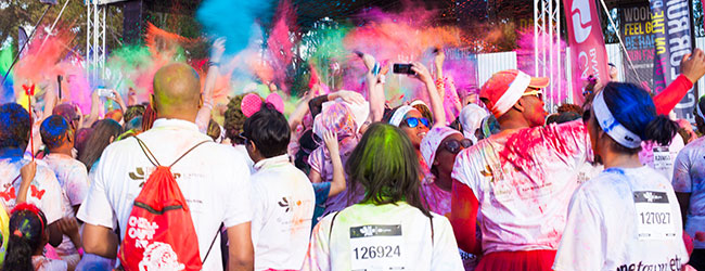 The Color Run Rainbow Tour, Stellenbosch