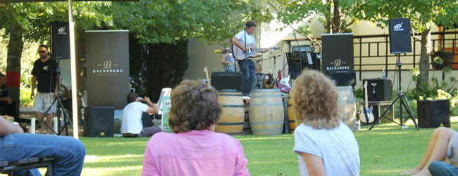 Backsberg Annual Picnic Concert Series