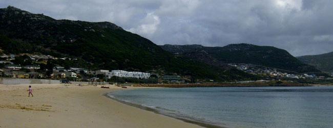 Cape Town beach clean-up