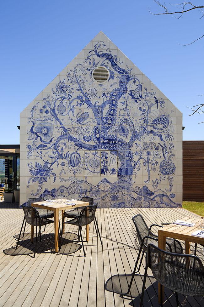 BOSJES Kombuis mural (HR)