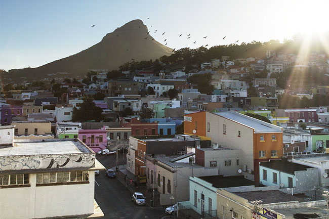 Bo kaap and Nelson Mandela