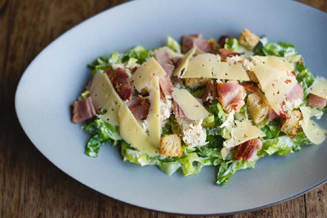 Confit Chicken Caesar salad LR