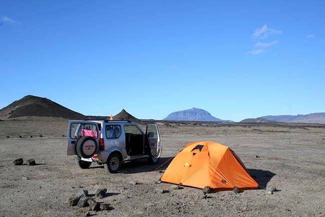 Suzuki camping – Jimny_Camp