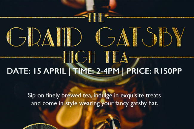 The Grand Gatsby High Tea