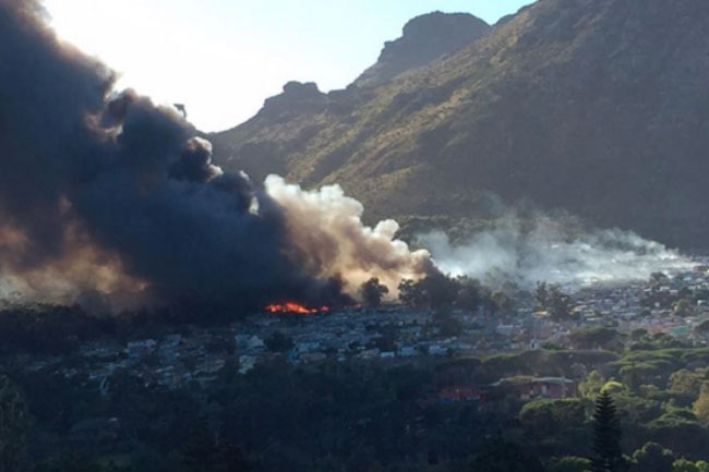 CT comes together to help Imizamo Yethu fire victims
