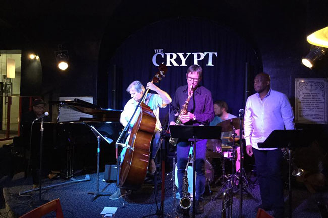 Jam Session at The Crypt