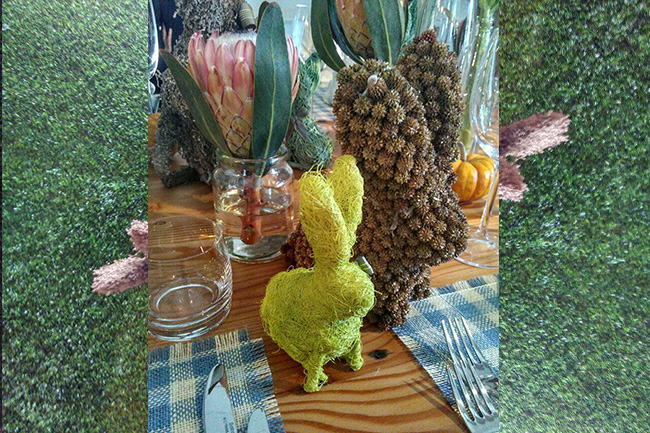 Chef Mynhardts Easter Table feature
