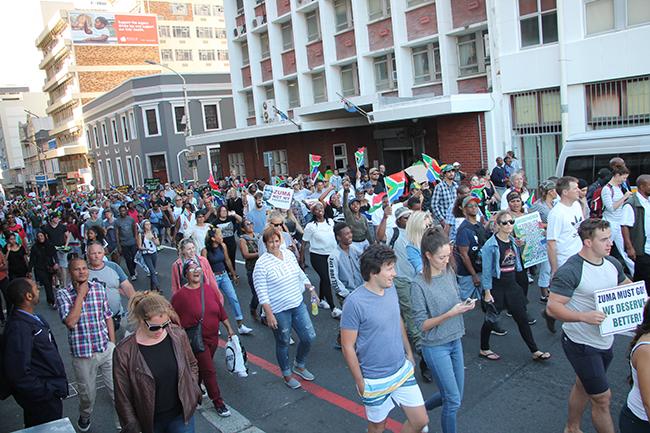 MarchForChange Yazeed Kamaldien 14