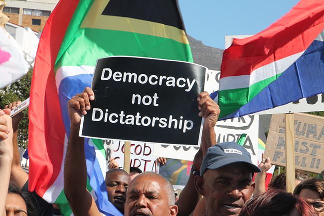 MarchForChange Yazeed Kamaldien 2