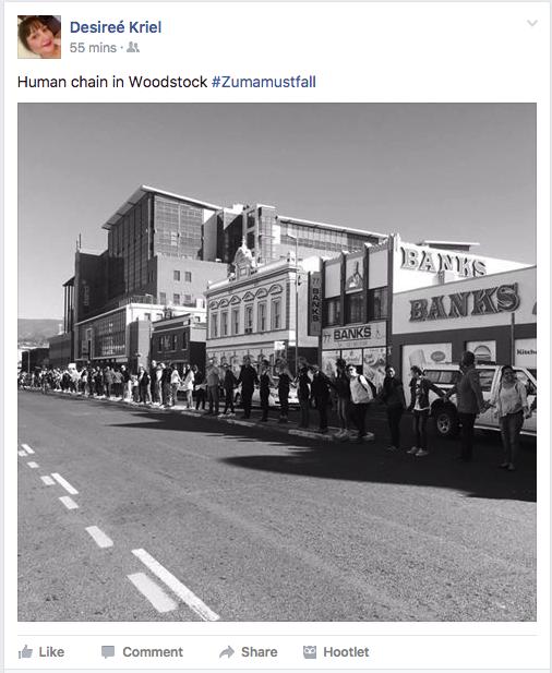 Human chain – D Kriel