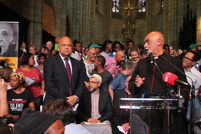 St Georges Cathedral Ahmed Kathrada memorial 7 – Yazeed Kamaldien