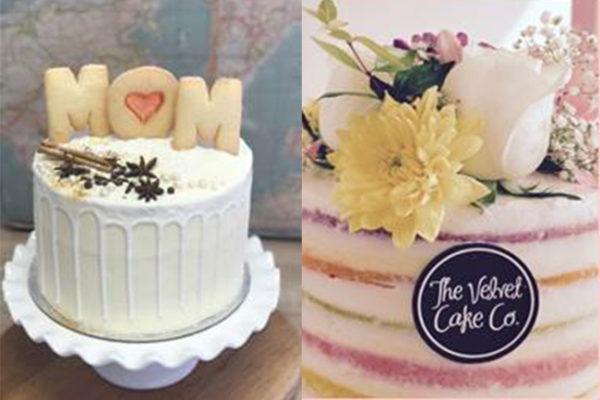 Velvet Cake Co MDay Cake Buffet