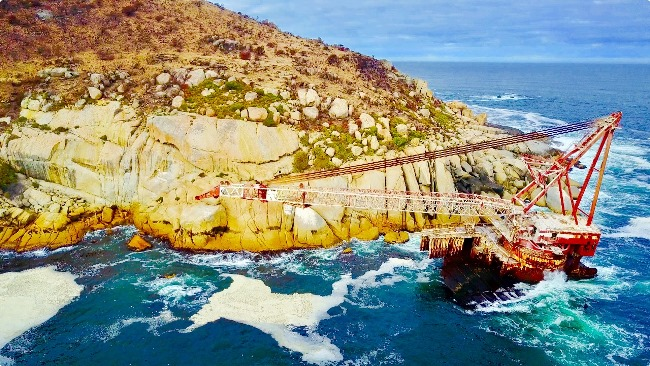Inside Cape Town's biggest shipwreck with Adam Spires